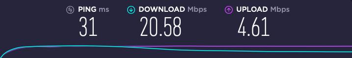 internet speed online lessons