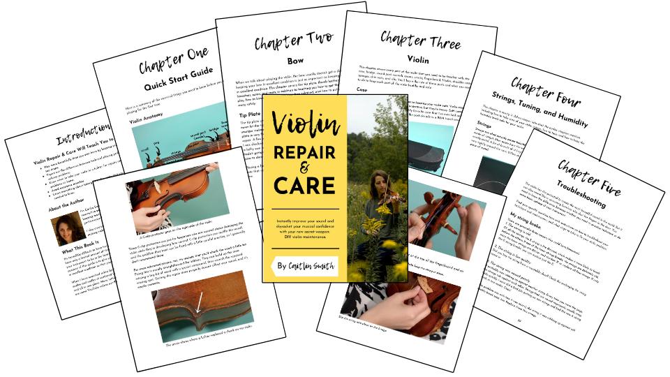 violin repair and care
